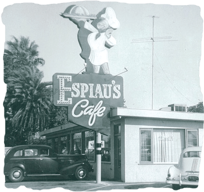 Old Photo of Original Epsiaus Location